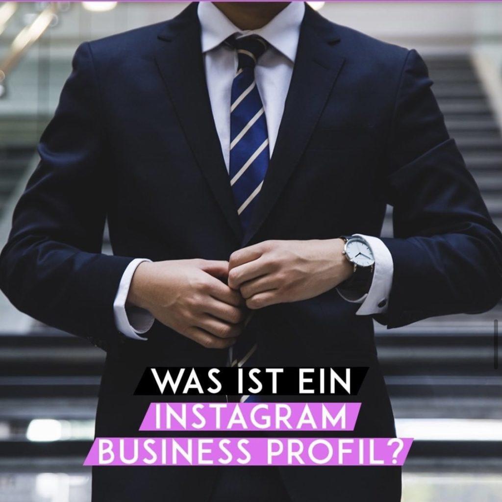 Was ist ein Instagram Business-Profil?